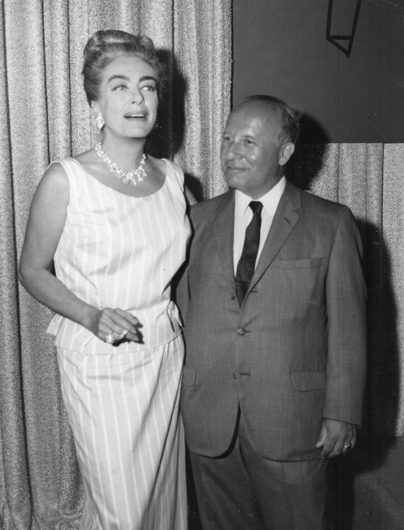 1963. With journalist Herbert Luft.