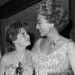 At the 4/8/63 Oscars with Patty Duke.