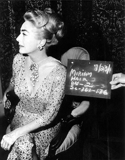 1964. Hair test for 'Hush.'