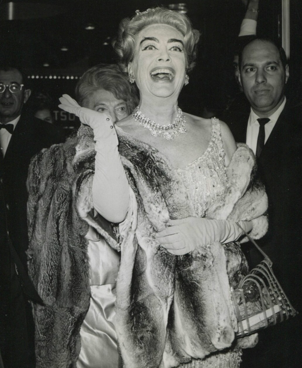 10/21/64 at the NYC Criterion Theatre premiere of 'My Fair Lady.'