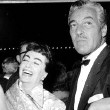 9/29/54. The 'Star is Born' premiere, with Cesar Romero.