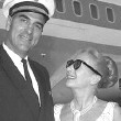 April 1964, with handsome Pan Am pilot. (Thanks to Bryan Johnson.)