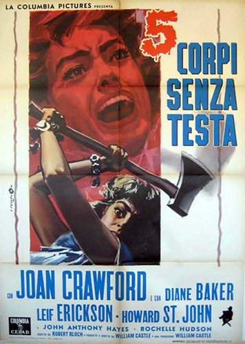 Italian poster. 40 by 55 inches.