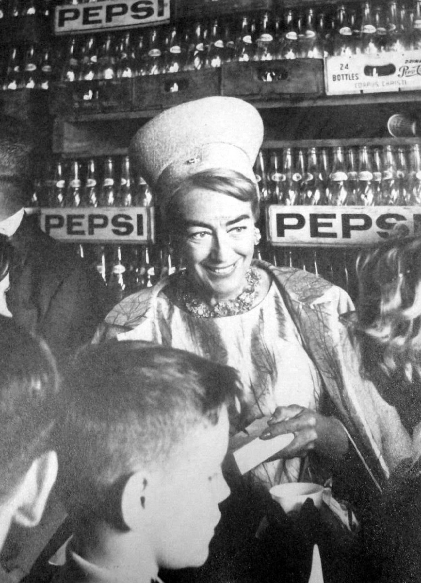 1964. At a Pepsi event in Corpus Christi, Texas.