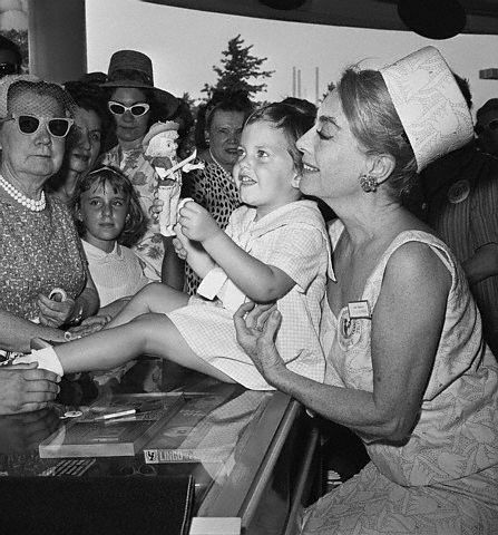 6/23/65. At the UNICEF booth at the Kentucky World's Fair.