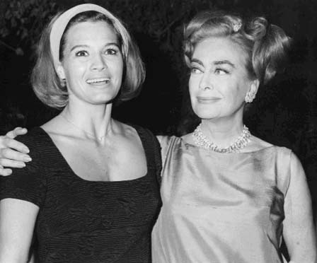 Circa 1965, with Angie Dickinson.