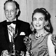 At the 9/13/65 Emmys with Melvyn Douglas and award winners.