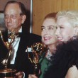 9/13/65 at the Emmys with Melvyn Douglas and Ginger Rogers.