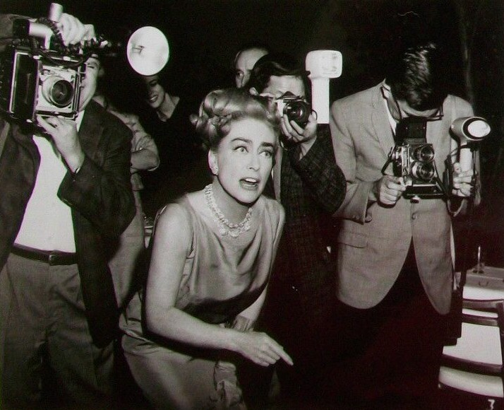 1965. 'I Saw What You Did' publicity party.