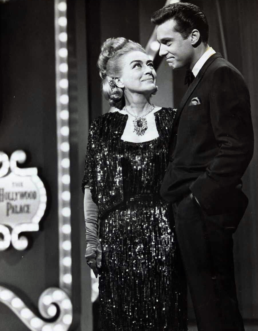 Hosting 'Hollywood Palace' on October 9, 1965. With Jack Jones.