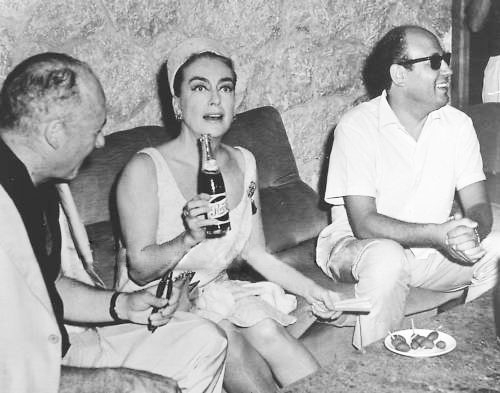August 1965, at a Taormina, Italy, film festival. (Thanks to Bryan Johnson.)
