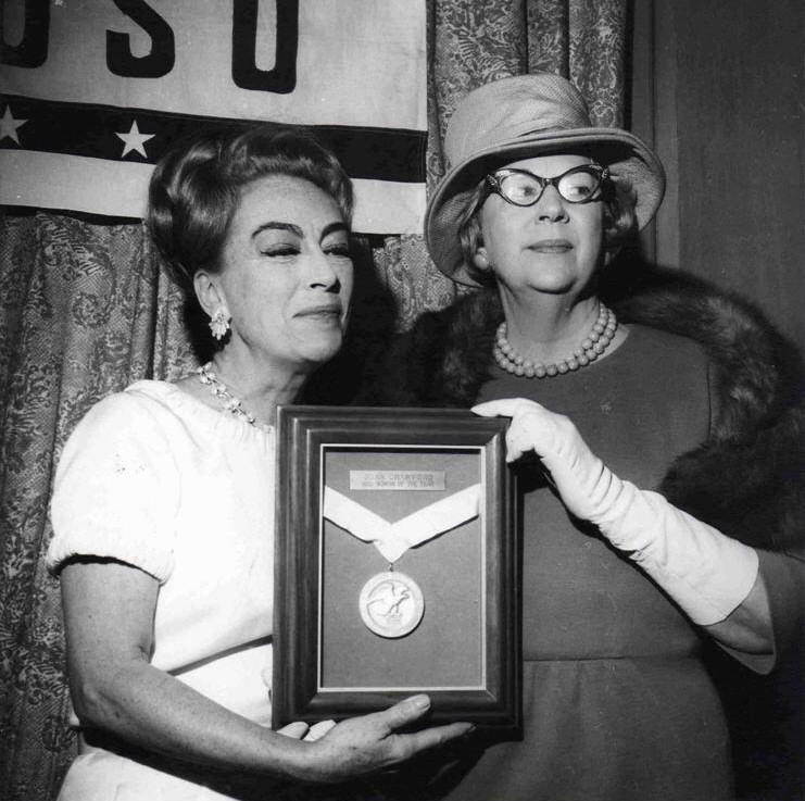 1965. USO's 'Woman of the Year.'