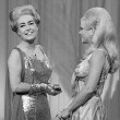 4/22/67. On 'Hollywood Palace.' With singer Nancy Ames.