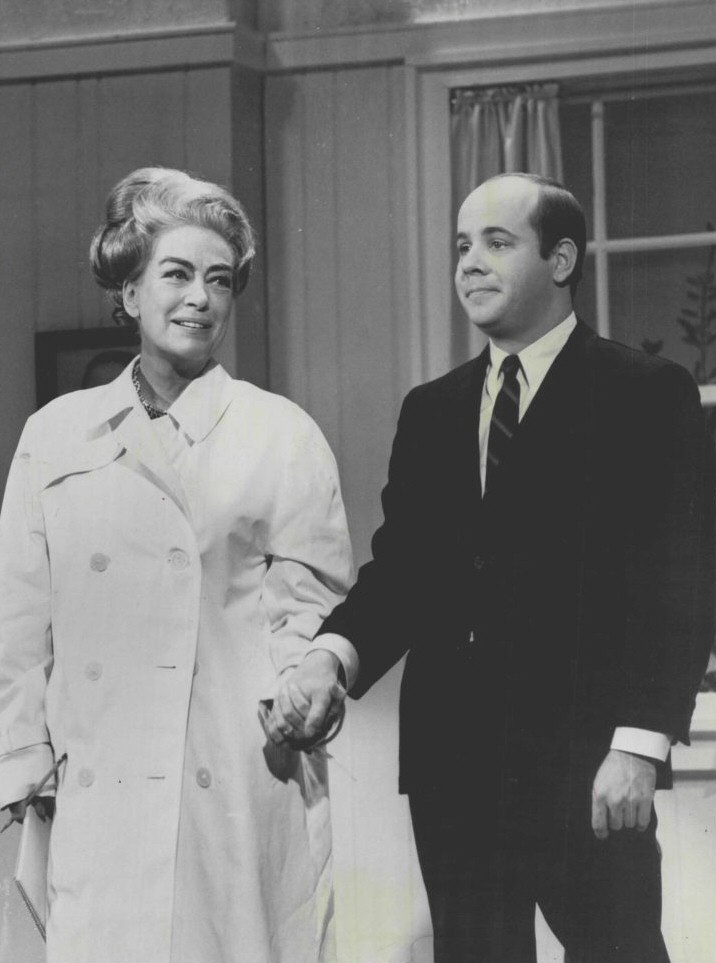 April 1967. With Tim Conway on 'Hollywood Palace.'