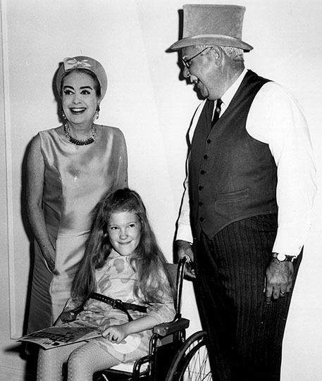 1968. At a Muscular Dystrophy Association (MDA) benefit in Charlotte, North Carolina.