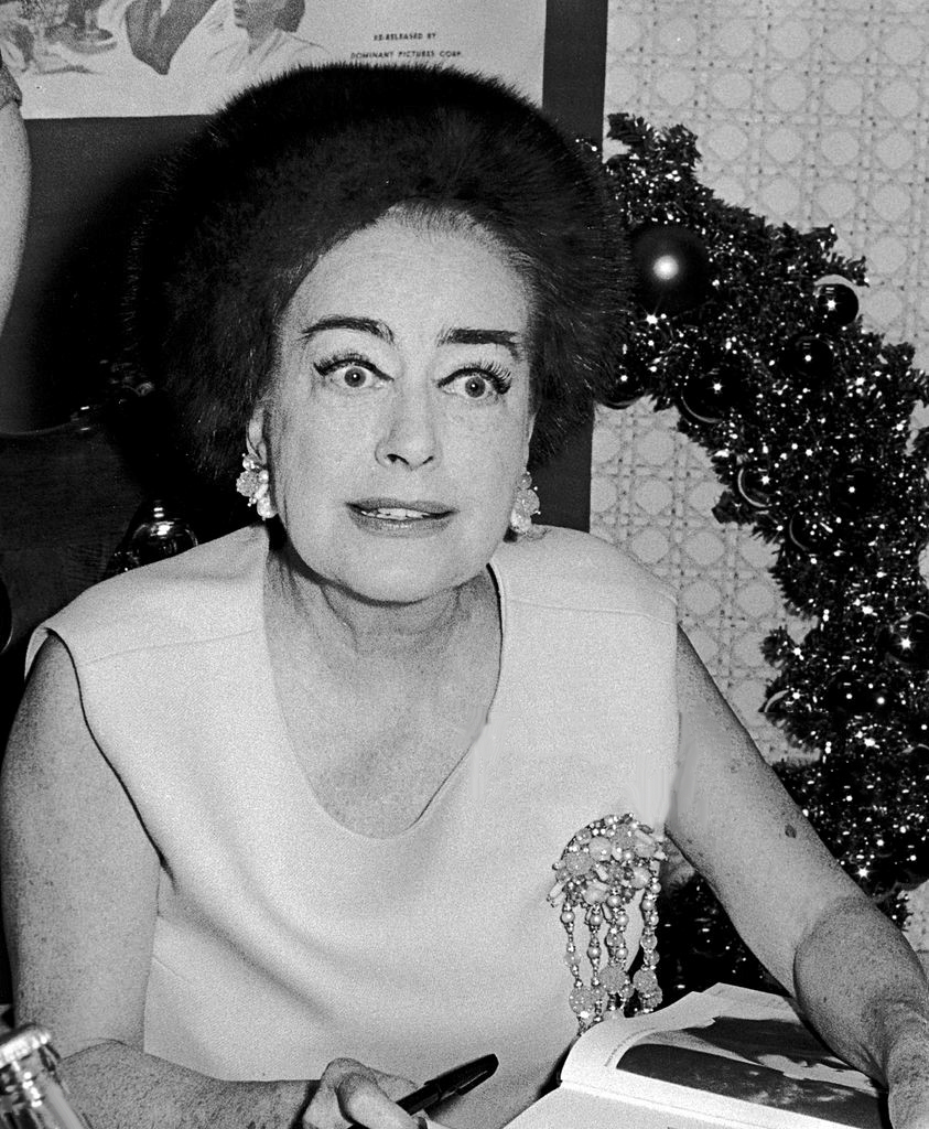 November 1968. Promoting 'The Films of Joan Crawford' at the St. Regis in NYC.