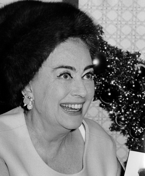 1968 in New York City at a 'Films of Joan Crawford' book signing.