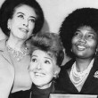 10/25/69. USO luncheon at the Plaza Hotel with Gypsy Rose Lee and Pearl Bailey.