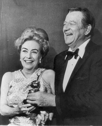 Joan receives the Cecil B. DeMille Award at the 1970 Golden Globes.