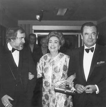 1970 Golden Globes, with Robert Gist and Glenn Ford.