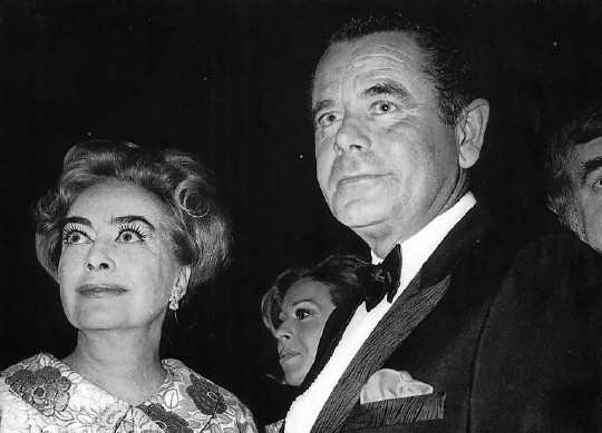 1970 Golden Globes, with Glenn Ford.