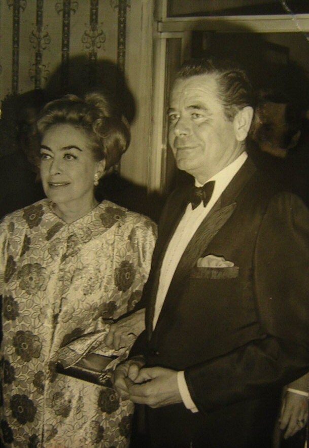 2/3/70. With Glenn Ford at the Golden Globes.
