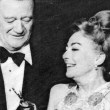 At the 2/3/70 Golden Globes, with John Wayne. (Thanks to Bryan Johnson.)