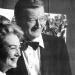 With John Wayne at the Golden Globes.