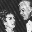 With Cesar Romero at the 2/5/71 Golden Globes.