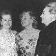 Nov. 72 Tallulah book release, with Joan Fontaine and Tamara Geva.