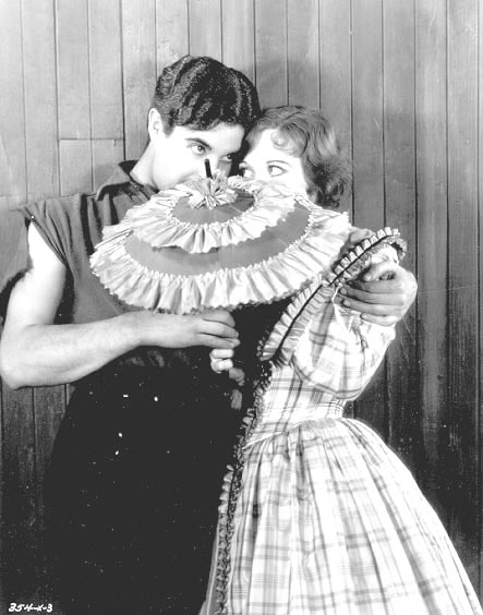 1928, 'Across to Singapore.' Publicity still with Ramon Novarro.