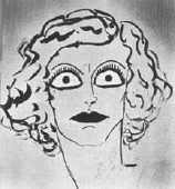 1929 drawing by Joan's husband Doug Fairbanks, Jr.