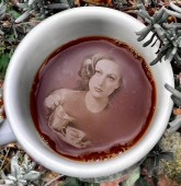2013 by Tonie Cook. 'Coffee with Joan Crawford No. 1.'