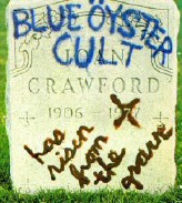 Artwork for Blue Oyster Cult's 'Joan Crawford Has Risen From the Grave.'