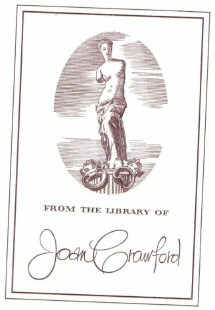 Joan's personal bookplate.