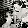 1952, with Judy Garland at Romanoff's.
