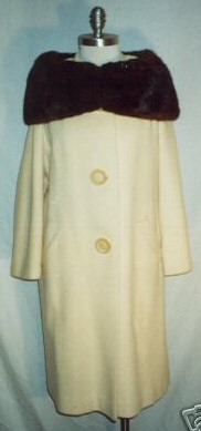 A cashmere and mink coat.