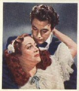 With Robert Taylor in 'Gorgeous Hussy'