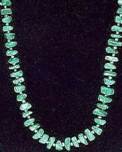 Faux jade necklace, currently auctioned on the Roslyn Herman site for $225.