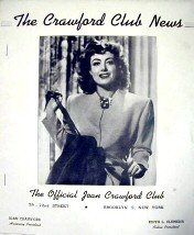 Fan newsletter originating in Brooklyn. Vol. II, Issue I, March 1945. 1st anniversary issue. Among the honorary members of the club: BETTE DAVIS!