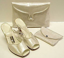 Leach Kale shoes and handbag set.