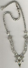 16-inch '60s rhinestone necklace from Sydney Guilaroff's '95 auction.