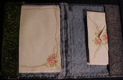 Personal stationery, circa 1920s
