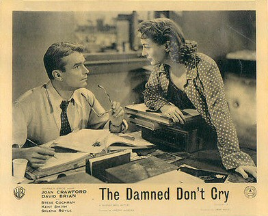 British lobby for 'Damned Don't Cry.'