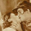 A steamy photo from 'Paris' that appeared in the Oct. '26 issue of 'Dawn' magazine. (Thanks to Shane and his graphic artist BF for cleaning up the marks on it!)