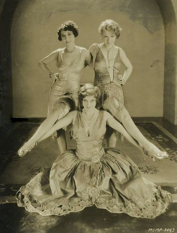1928. 'Our Dancing Daughters.' With Dorothy Sebastian and Anita Page.