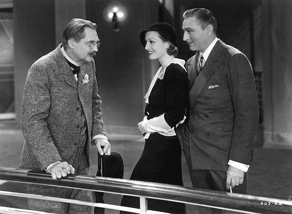 With Lionel Barrymore and John Barrymore.