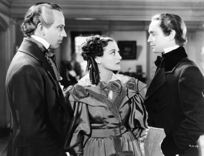 1936. 'Gorgeous Hussy.' With Melvyn Douglas and Franchot Tone.