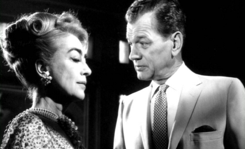 1964. 'Hush,' with Joseph Cotten. (Thanks to Steve Pickens.)