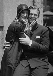 On June 4, 1929, the day after their wedding. Source: CORBIS.